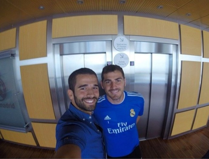 Com Iker Casillas, guarda-redes do FCP