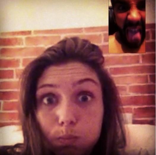 'Face Time' entre Joana Freitas e Henrique Ramos