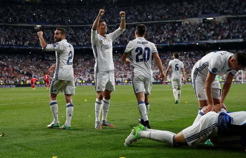 Noite de glória para Cristiano Ronaldo na Liga dos Campeões