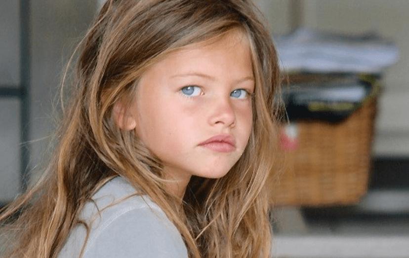 Thylane Blondeau, quando tinha 6 anos