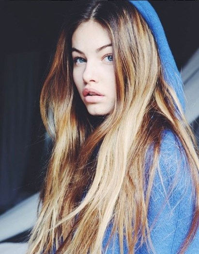 A criança mais bonita do mundo transformou-se numa linda adolescente