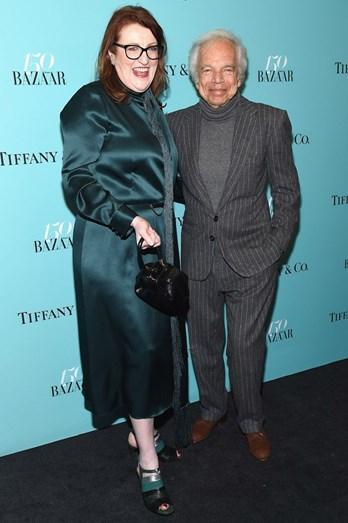 Glenda Bailey e Ralph Lauren