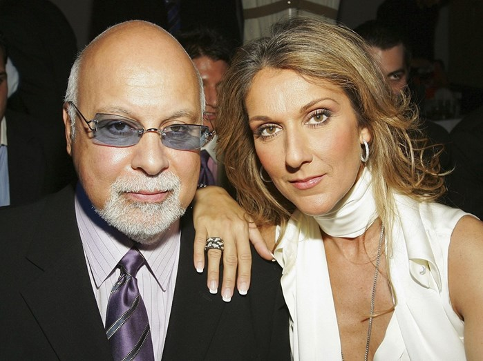 René Angélil e Celine Dion