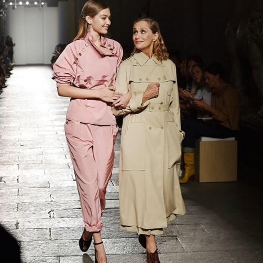 Gigi Hadid e Lauren Hutton