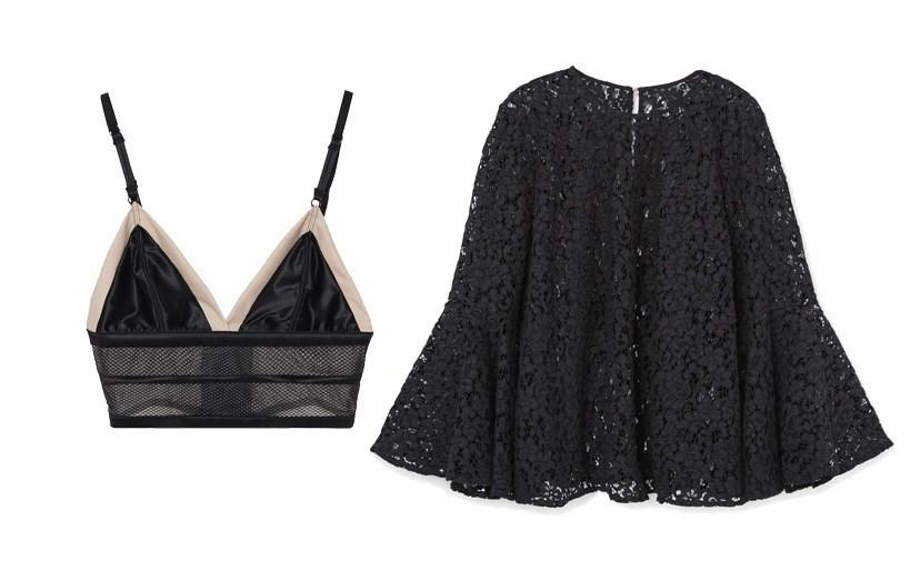 Sutiã Intimissimi, €29,99, blusa Zara, €39,95
