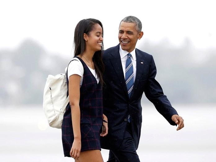 Pai e filha bastante unidos