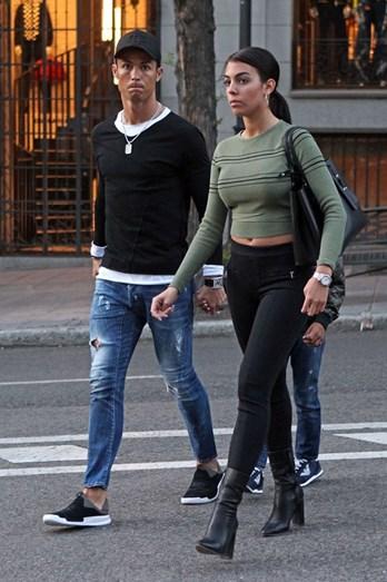 Georgina tem acompanhado Cristiano em todos os momentos