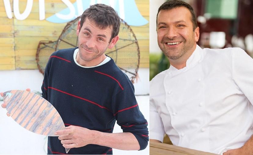 Dois 'chefs', dois destino. David Coelho fechou o restaurante Hot Spot, em Peniche, Ljubo tem o negócio 100 Maneiras ao rubro com a fama da TV.