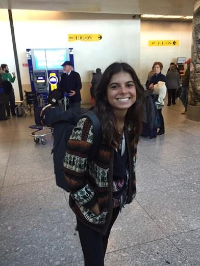 Matilde regressou a Portugal em Fevereiro, depois de ter feito Erasmus