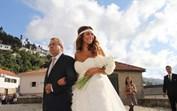 Sofia Ribeiro visita pai com cancro no hospital