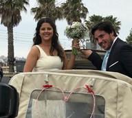 O casamento da filha de Bibá Pitta