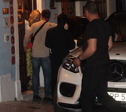 Bacalhau à Brás no jantar secreto de Madonna e Nuno Gomes