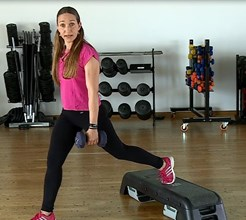 Semana 4, exercício 4: pernas, glúteos e abdominais