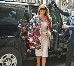 Melania Trump: agora já todos a querem