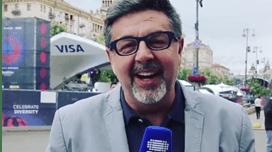 Vídeo divertido de José Carlos Malato na Eurovisão torna-se viral