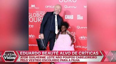 Eduardo Beauté criticado por Guilherme Leite por causa da filha