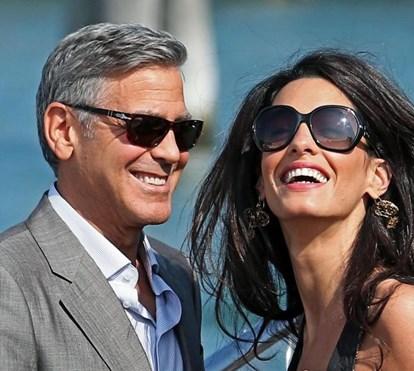 George e Amal Clooney renovam votos e apresentam gémeos