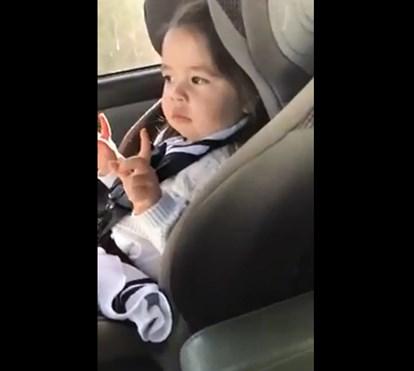 """Bebé """"espera"""" pelo refrão de 'Uptown Funk' de Bruno Mars"""