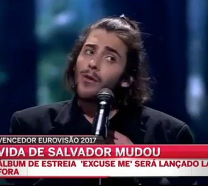 Como a vida de Salvador Sobral já mudou
