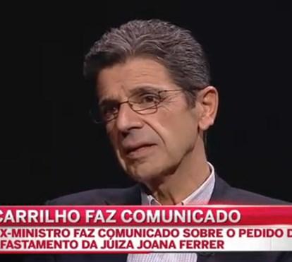 Carrilho volta a criticar duramente Bárbara Guimarães