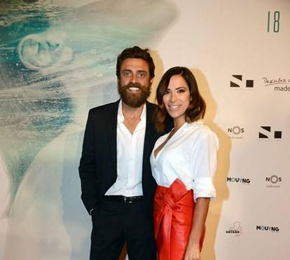 Diogo Amaral junta 'ex' e atual namorada em noite louca