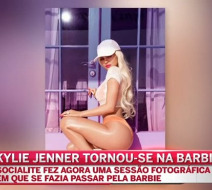 Kylie Jenner transforma-se na Barbie