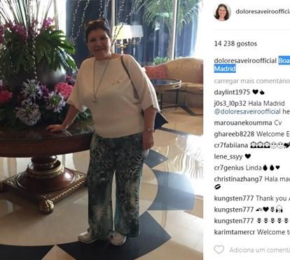 Clã Aveiro passeia-se no Egipto onde Katia foi cantar