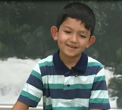 Lucas, o menino milagre, conta como foi estar com o Papa Francisco em Fátima