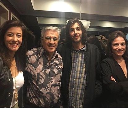 Salvador Sobral passa noite inesquecível com Caetano Veloso. Veja o vídeo!
