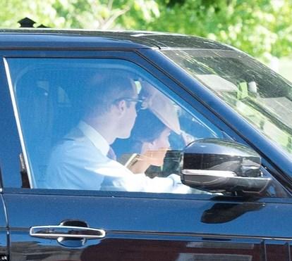 Duques de Cambridge já partiram do Palácio de Kensington para o casamento de Pippa Middleton