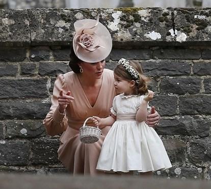 Chapéus são os reis do casamento de Pippa Middleton