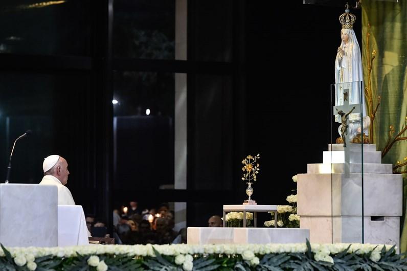 As imagens inesquecíveis da visita do Papa a Fátima