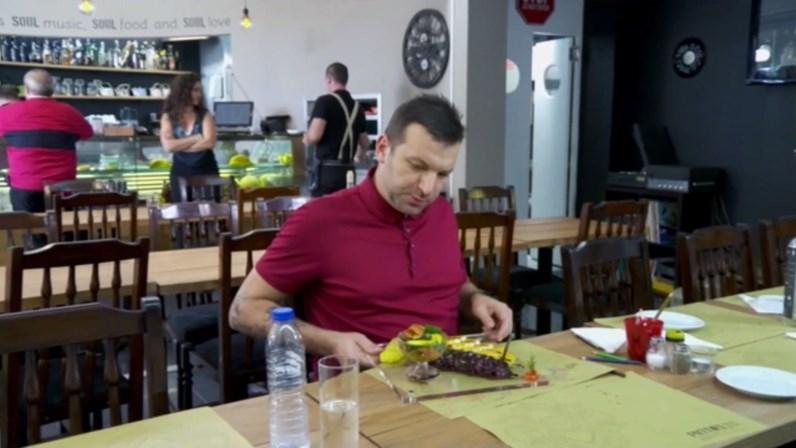 O restaurante dos ricos que Ljubomir mudou