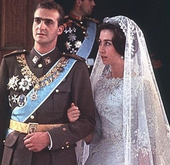 Juan Carlos e Sofia celebraram mais um casamento... mas apenas no papel