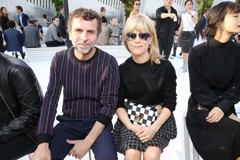 Celebridades na 'front row' Vuitton
