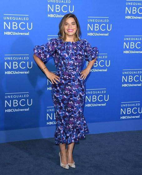 Celebridades na passadeira azul da NBC