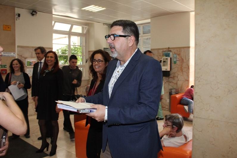 José Carlos Malaro visita IPO de Lisboa
