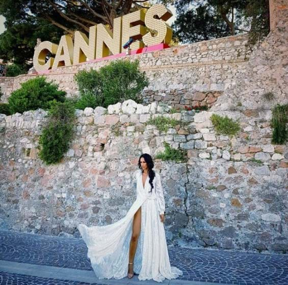Cristina Ferreira e Rita Pereira em Cannes