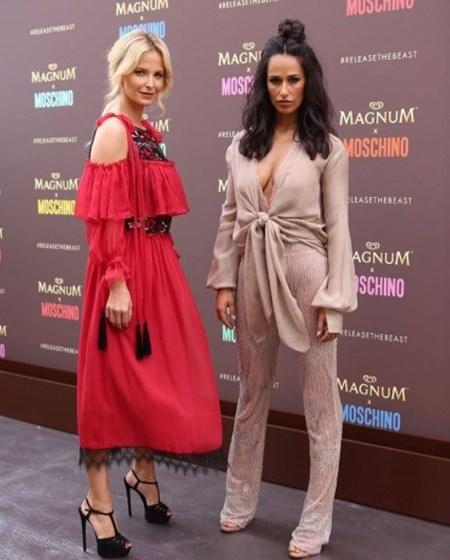 Rita Pereira e Cristina divertidas em Cannes