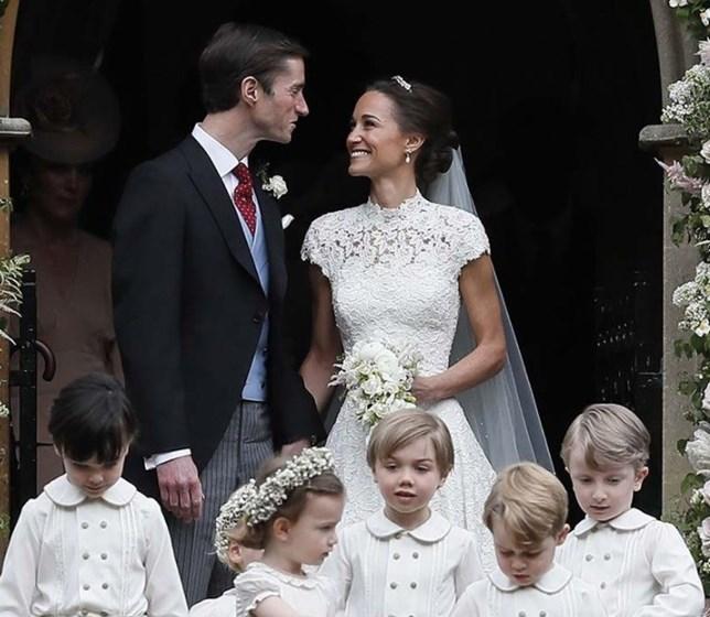 As melhores fotos do casamento de Pippa Middleton