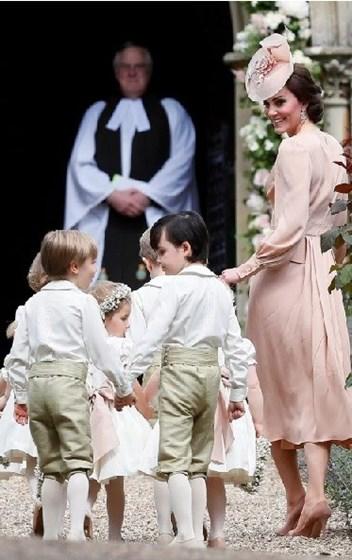 Os looks mais elegantes no casamento de Pippa Middleton