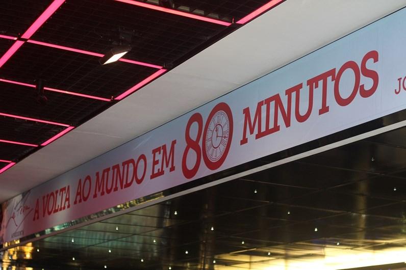 Estreia 'Volta ao Mundo em 80 Minutos', de Filipe La Feria