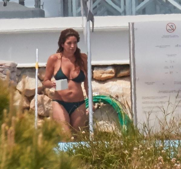 Veja como as celebridades se refrescam em dias de calor