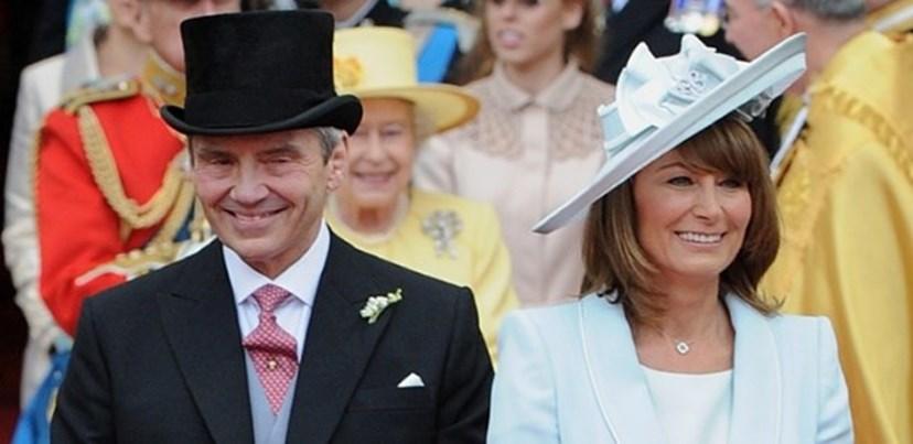 Michael e Carole Middleton, pais de Pippa