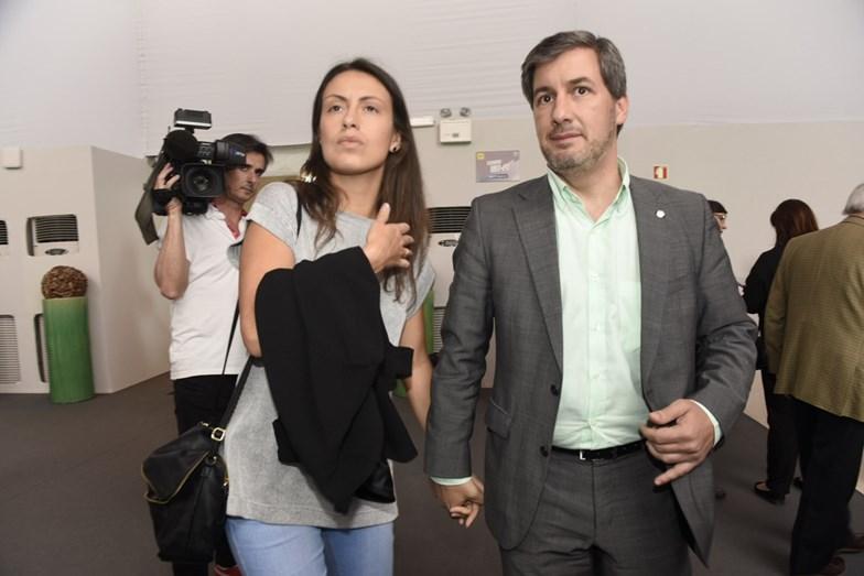 Bruno de Carvalho e a noiva Joana Ornelas