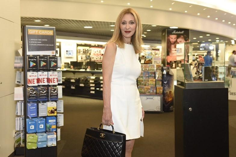Judite Sousa escolheu um modelo Elisabetta Franchi