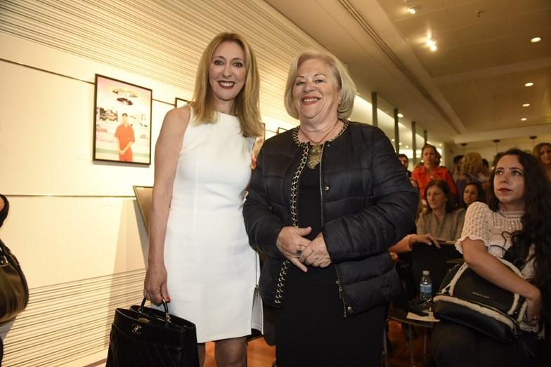 Judite Sousa com a mãe
