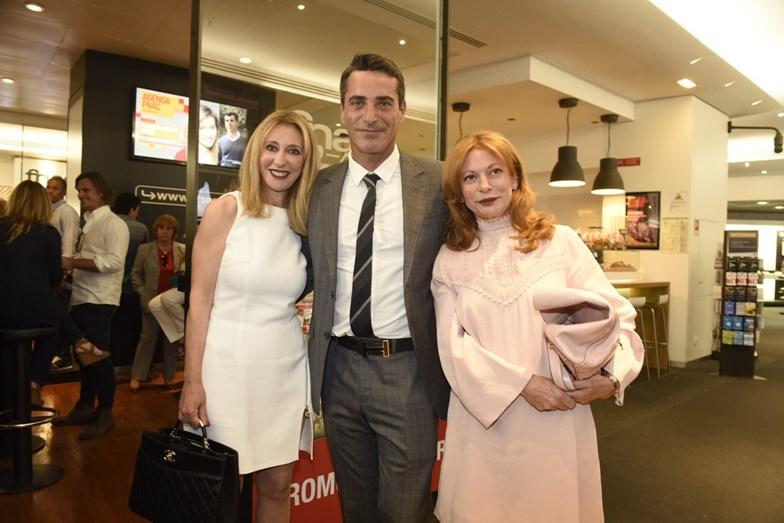Judite Sousa, António Santos e Cristina Gomes