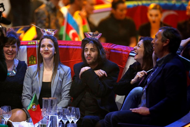 Momentos divertidos durante a Eurovisão