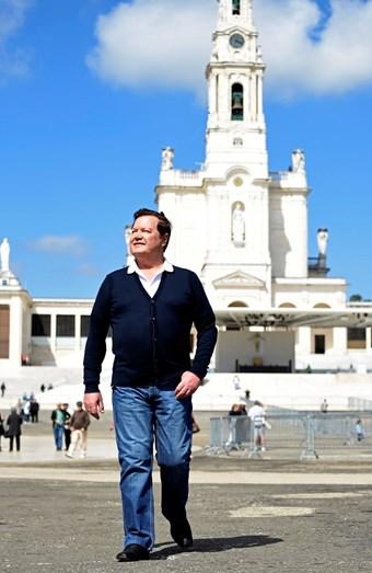 Marco Paulo de visita ao Santuário de Fátima